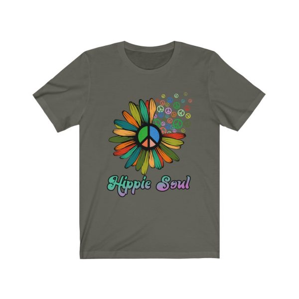 Hippie Soul | Hippie Tee | Rainbow Daisy | Hippie Daisy | 18062