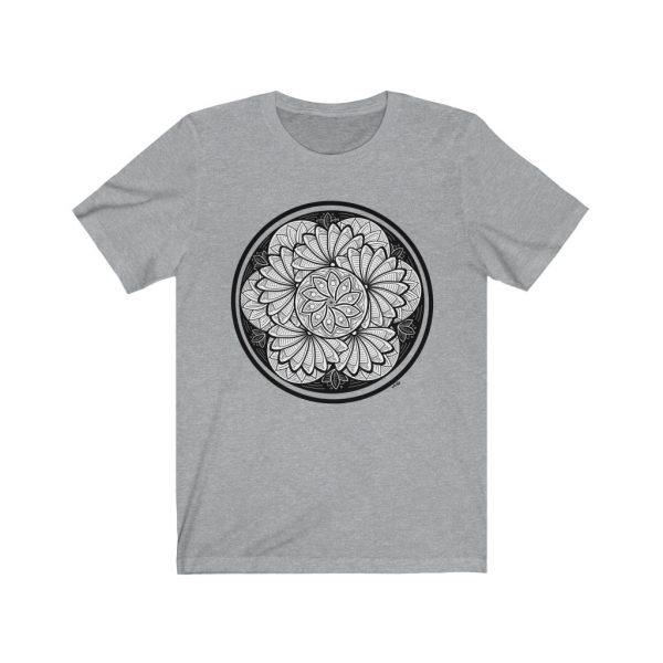 Zen Doodle Petals - Unisex Jersey Short Sleeve Tee | 18078 32