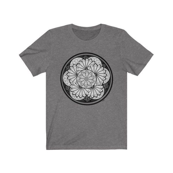 Zen Doodle Petals - Unisex Jersey Short Sleeve Tee | 18158 4