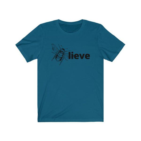 Believe (BEE-lieve) Unisex Jersey Short Sleeve Tee | 18166
