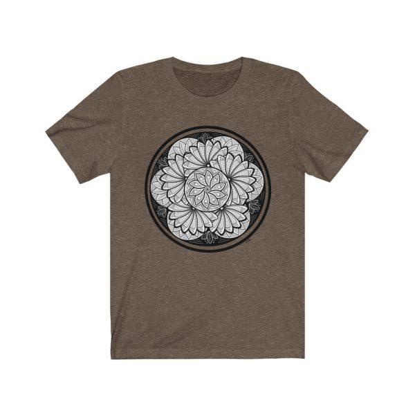 Zen Doodle Petals - Unisex Jersey Short Sleeve Tee | 18206 1