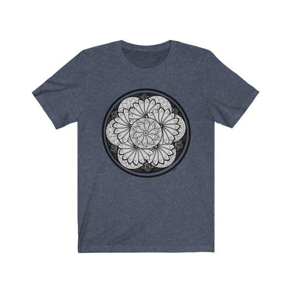 Zen Doodle Petals - Unisex Jersey Short Sleeve Tee | 18270 1