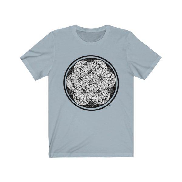 Zen Doodle Petals - Unisex Jersey Short Sleeve Tee | 18358 5
