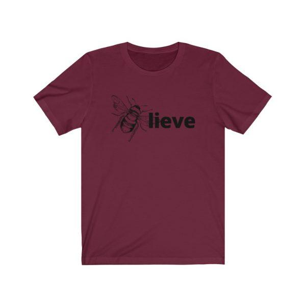 Believe (BEE-lieve) Unisex Jersey Short Sleeve Tee | 18374