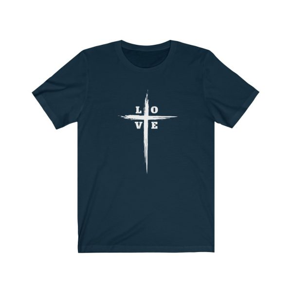 Love Cross | Cross T-Shirt | Love & The Cross T-shirt | L-O-V-E Cross | 18398 8