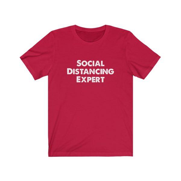 Social Distancing Expert - T-shirt | 18446 15