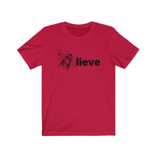 Believe (BEE-lieve) Unisex Jersey Short Sleeve Tee | 18446 20