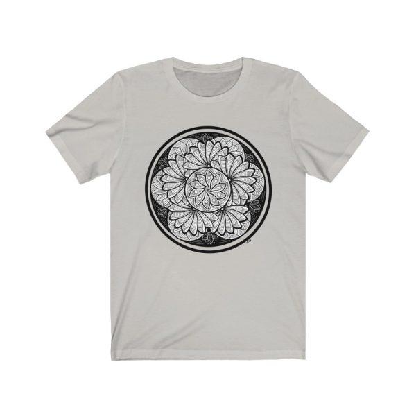 Zen Doodle Petals - Unisex Jersey Short Sleeve Tee | 18454 1