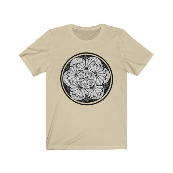 Zen Doodle Petals - Unisex Jersey Short Sleeve Tee | 18462