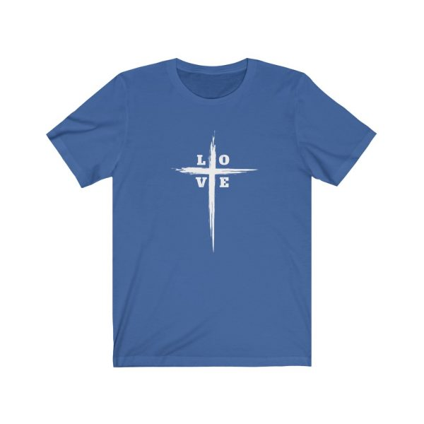 Love Cross | Cross T-Shirt | Love & The Cross T-shirt | L-O-V-E Cross | 18518 5