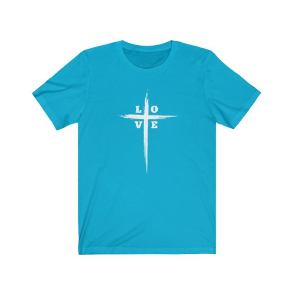 Love Cross | Cross T-Shirt | Love & The Cross T-shirt | L-O-V-E Cross | 18526 2