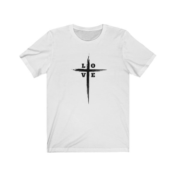 Love Cross | Cross T-Shirt | Love & The Cross T-shirt | L-O-V-E Cross | 18542 8