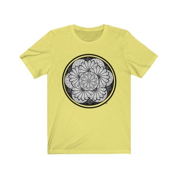 Zen Doodle Petals - Unisex Jersey Short Sleeve Tee | 18550 3