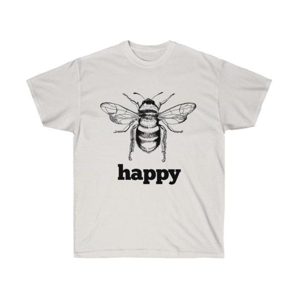 Bee Happy! Be Happy - Unisex Ultra Cotton Tee | 21753 1