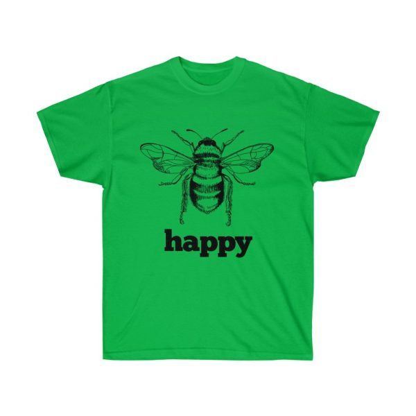 Bee Happy! Be Happy - Unisex Ultra Cotton Tee | 21865 4