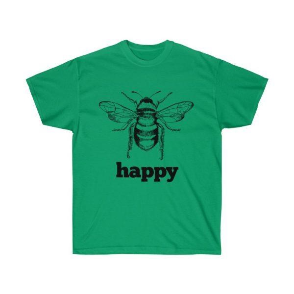 Bee Happy! Be Happy - Unisex Ultra Cotton Tee | 21881 2