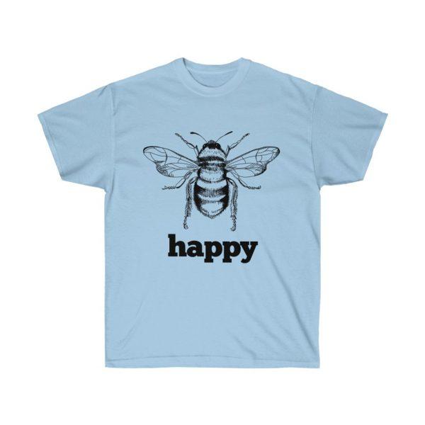 Bee Happy! Be Happy - Unisex Ultra Cotton Tee | 21889 1