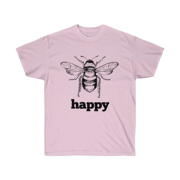 Bee Happy! Be Happy - Unisex Ultra Cotton Tee | 21897 2