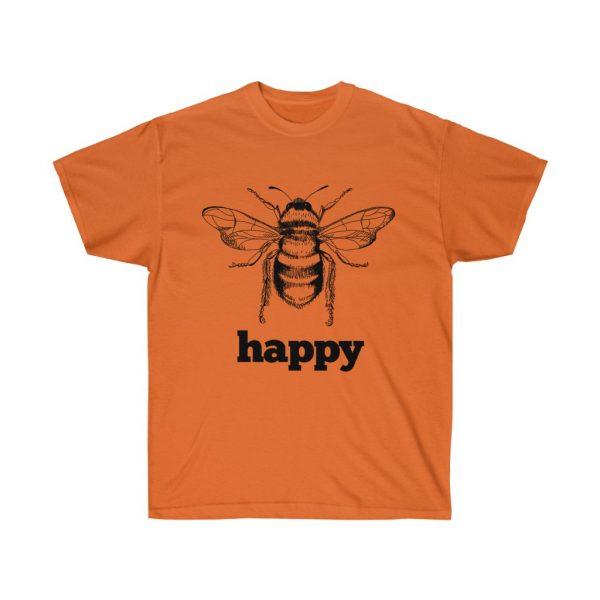 Bee Happy! Be Happy - Unisex Ultra Cotton Tee | 21945 3