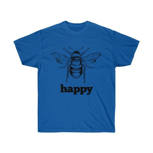 Bee Happy! Be Happy - Unisex Ultra Cotton Tee | 21985 5