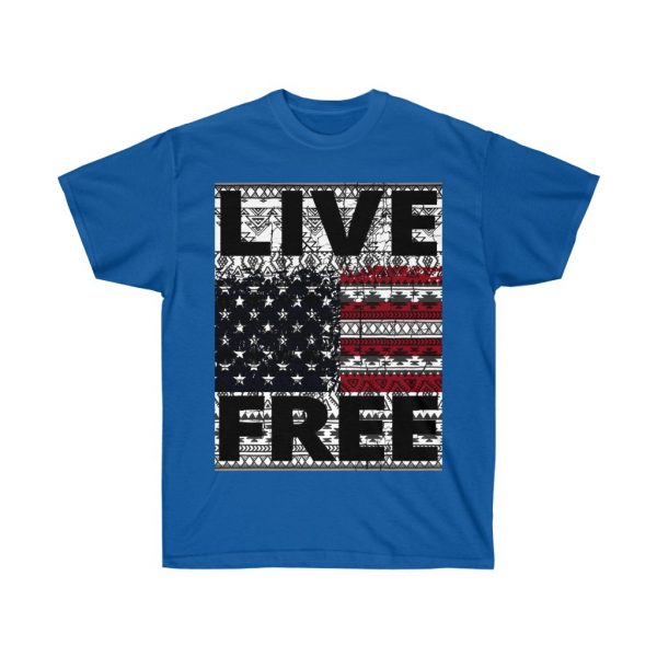 Live Free - USA Inspired - Unisex Ultra Cotton Tee | 21985 9