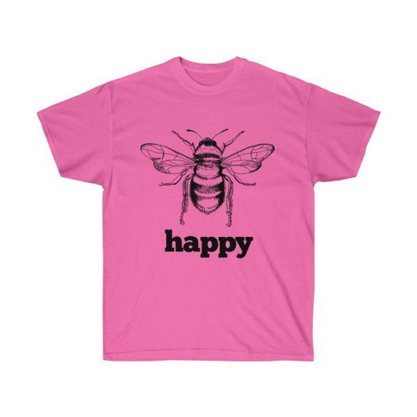 Bee Happy! Be Happy - Unisex Ultra Cotton Tee | 22081 3