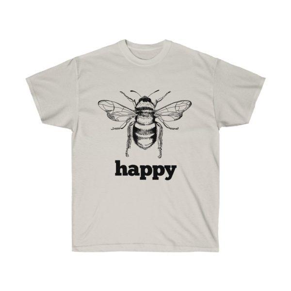 Bee Happy! Be Happy - Unisex Ultra Cotton Tee | 22137 1