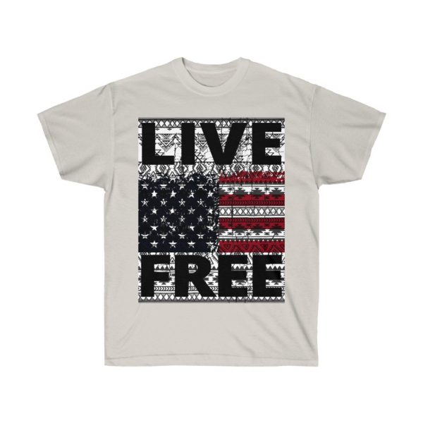 Live Free - USA Inspired - Unisex Ultra Cotton Tee | 22137 2