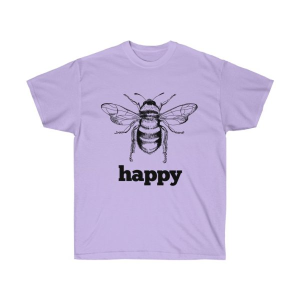 Bee Happy! Be Happy - Unisex Ultra Cotton Tee | 22185 3