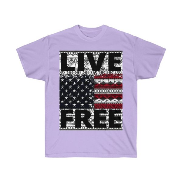 Live Free - USA Inspired - Unisex Ultra Cotton Tee | 22185 4