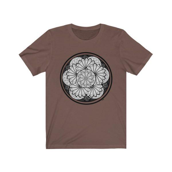 Zen Doodle Petals - Unisex Jersey Short Sleeve Tee | 39583 4