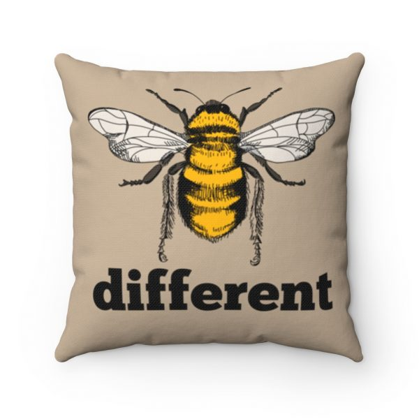 Bee Different Square Pillow | 41521 2