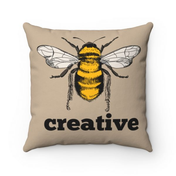 Bee Creative Square Pillow | 41521 5