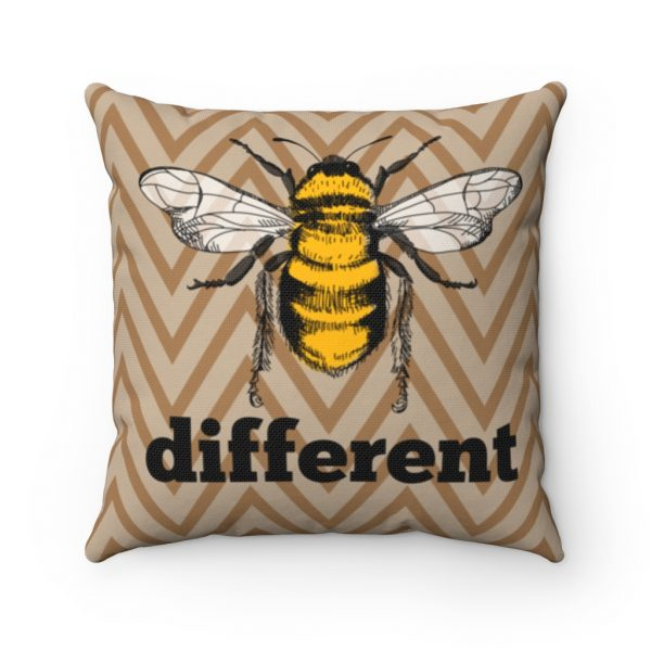 Bee Different Square Pillow | 41521