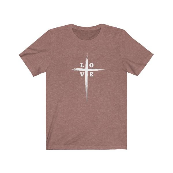 Love Cross | Cross T-Shirt | Love & The Cross T-shirt | L-O-V-E Cross | 61823 2