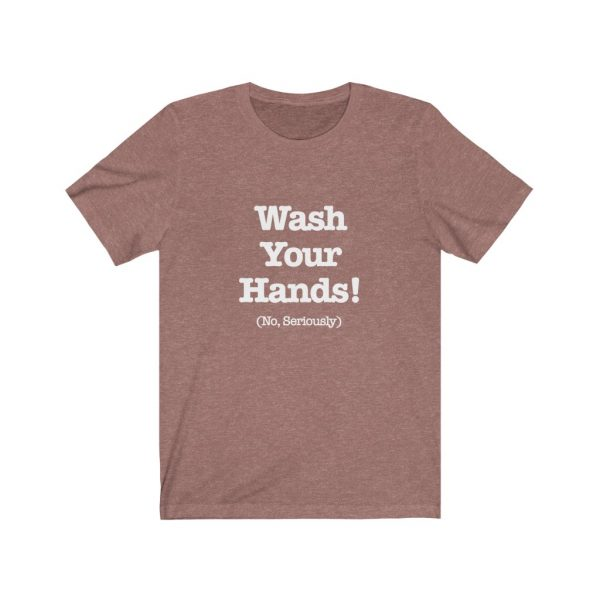 Wash Your Hands Short Sleeve Tee | 61823 7