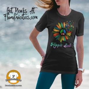 Hippie Soul - Rainbow Daisy T-shirt