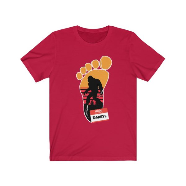 Bigfoot - My Name Is Darryl | Funny T-shirt | 18446 20