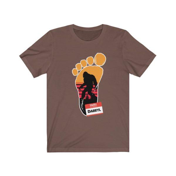 Bigfoot - My Name Is Darryl | Funny T-shirt | 39583 17