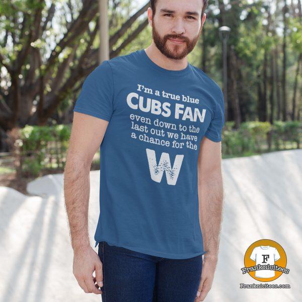 true blue cubs fan