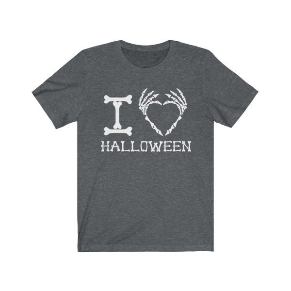 I Heart Halloween - Skeleton Finger Heart | 18150 2