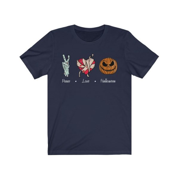 Peace, Love & Halloween T-shirt | 18398 3