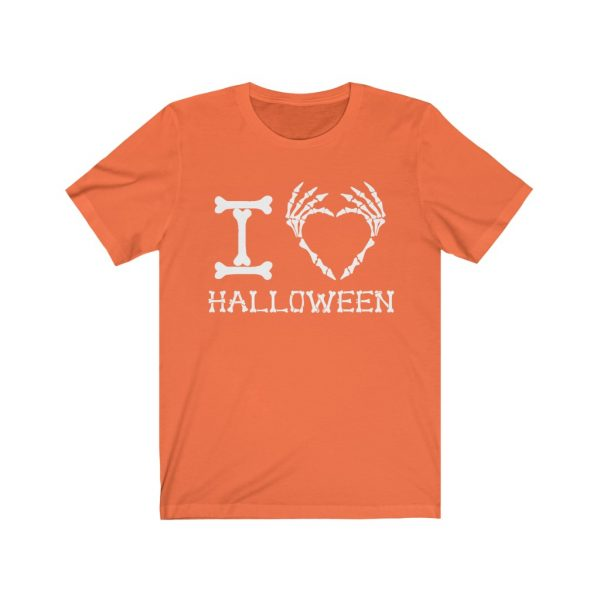I Heart Halloween - Skeleton Finger Heart | 18422