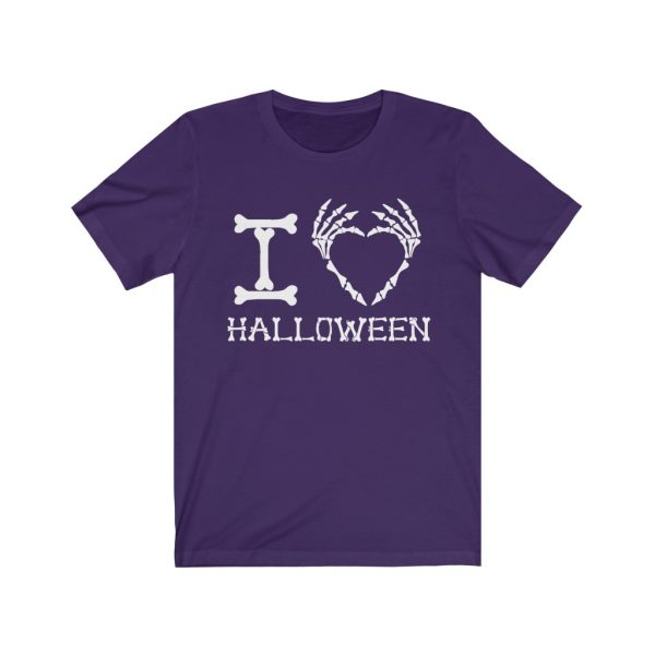I Heart Halloween - Skeleton Finger Heart | 18510