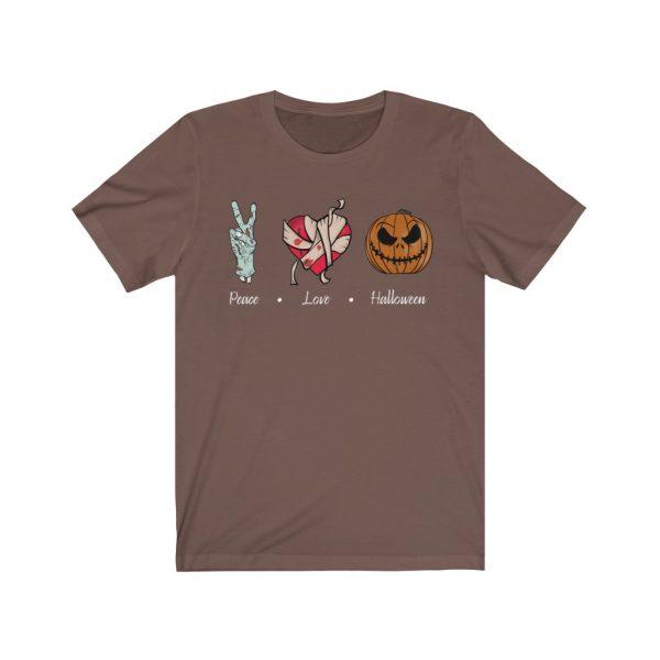 Peace, Love & Halloween T-shirt | 39583 1