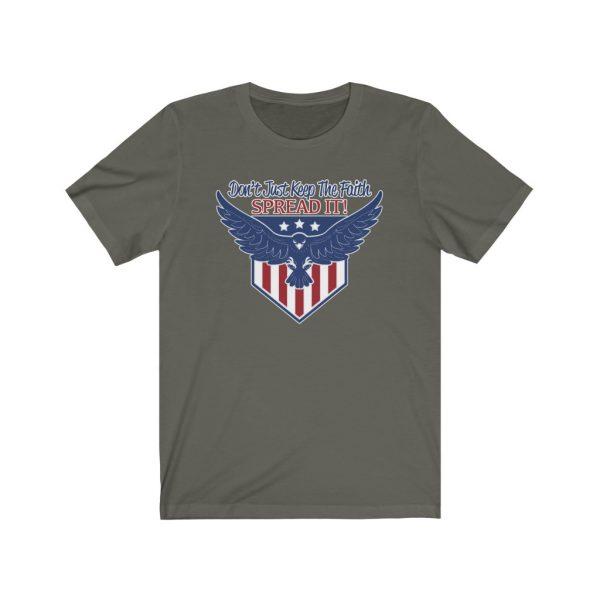 Don't Just Keep The Faith, Spread It - T-shirt | 18062