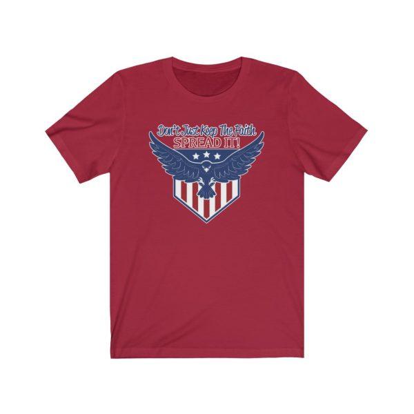 Don't Just Keep The Faith, Spread It - T-shirt | 18118