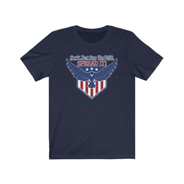 Don't Just Keep The Faith, Spread It - T-shirt | 18398