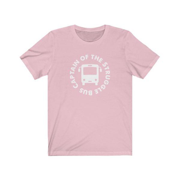 Captain Of The Struggle Bus - Short Sleeve Tee | 18438