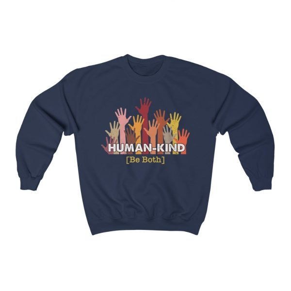 Human Kind - Be Both - Longsleeve sweatshirt | 25450